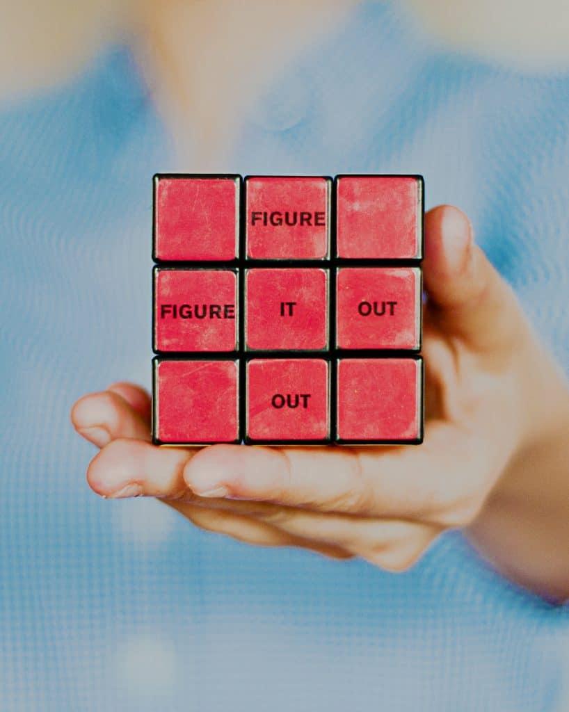 3 x 3 rubiks cube